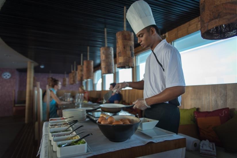Scubaspa Ying Liveaboard Buffet Breakfast