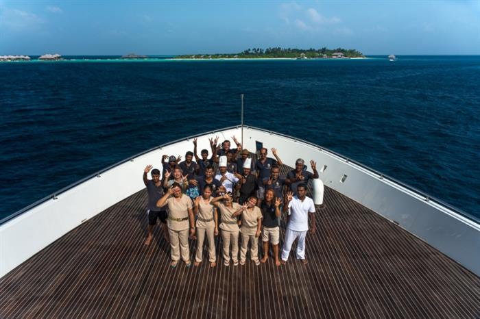 Scubaspa Ying Liveaboard Crew