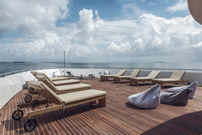Scubaspa Ying Liveaboard Sun Deck