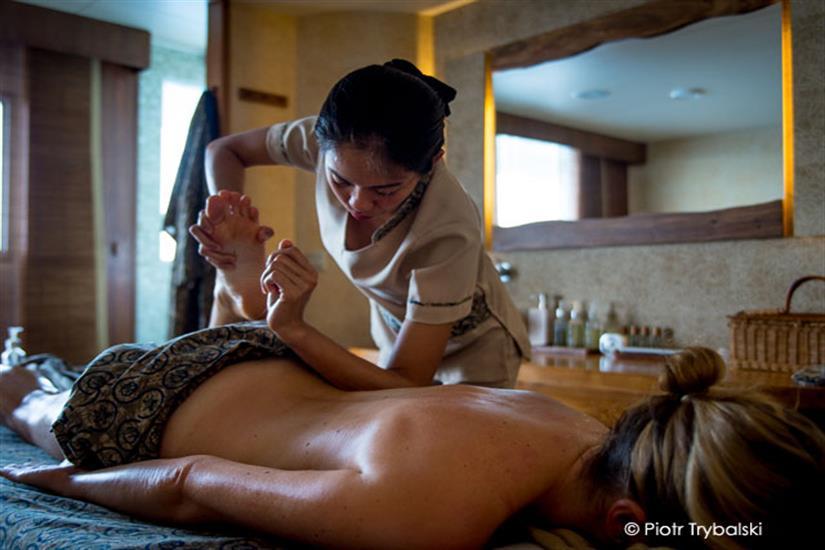 Scubaspa Ying Liveaboard Massage Services