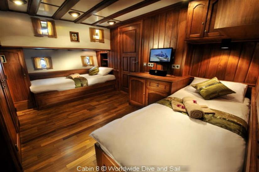 Double Cabin - Palau Siren Liveaboard