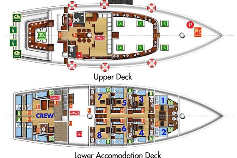 Palau Siren floorplan