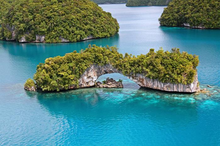 Stunning Palau Scenery