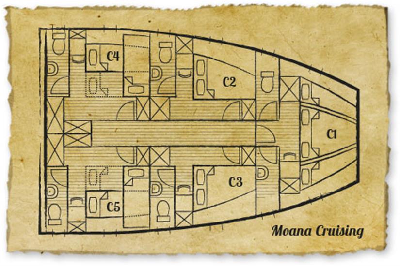 Moana Liveaboard Deck Plan