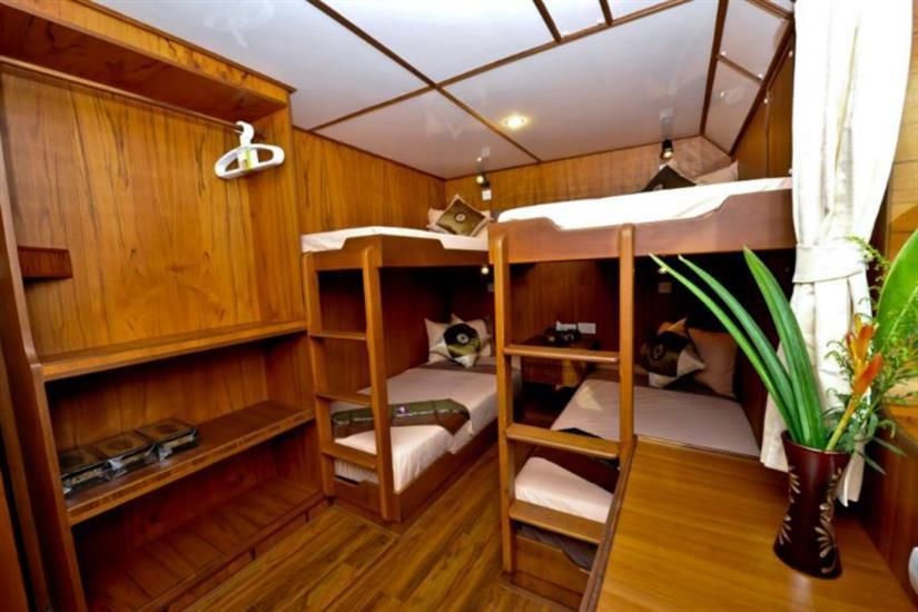 En-Suite Quad Cabin - White Manta Liveaboard