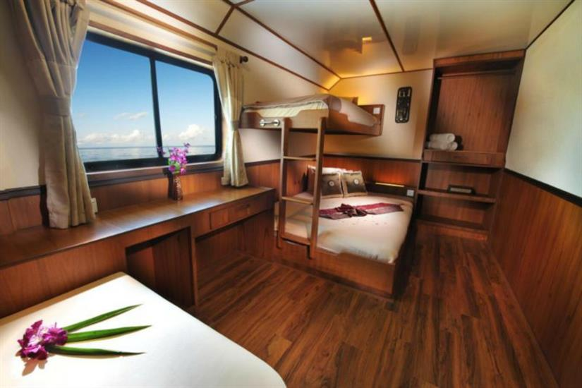 En-Suite Double/Twin Cabin - White Manta Liveaboard