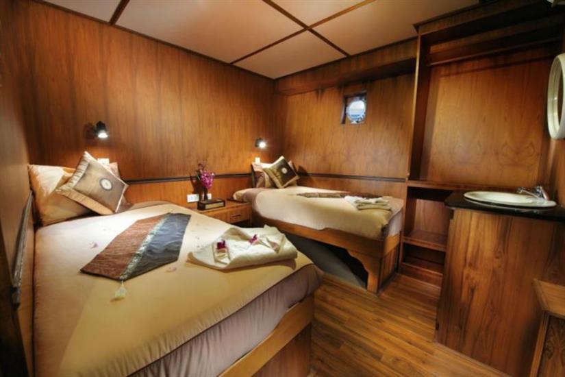 En-Suite Twin/Double Cabin - White Manta Liveaboard