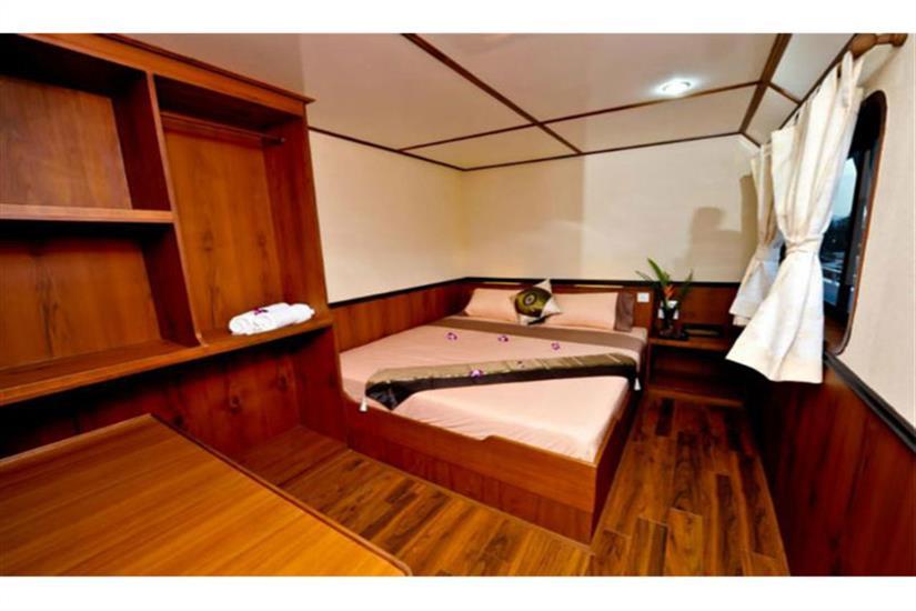 Double Cabin - White Manta Liveaboard