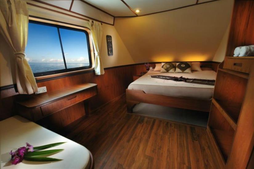 En-Suite Double Cabin - White Manta Liveaboard
