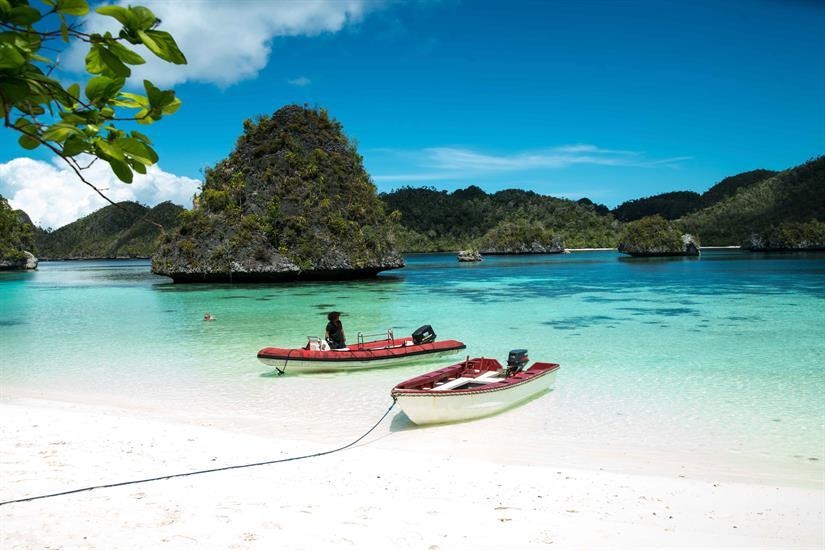 Beautiful Raja Ampat Beaches