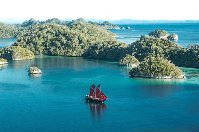 Stunning Raja Ampat Scenery - Calico Jack Liveaboard