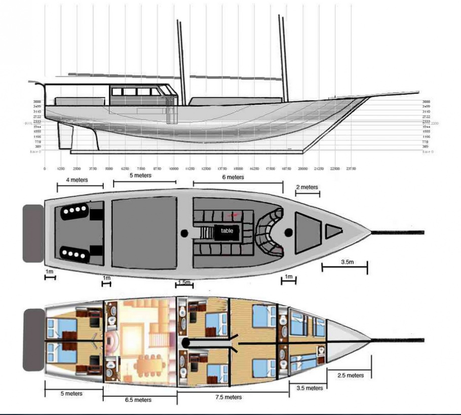 Calico Jack Deck Plan floorplan