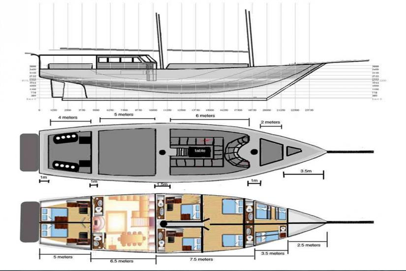 Calico Jack Deck Plan