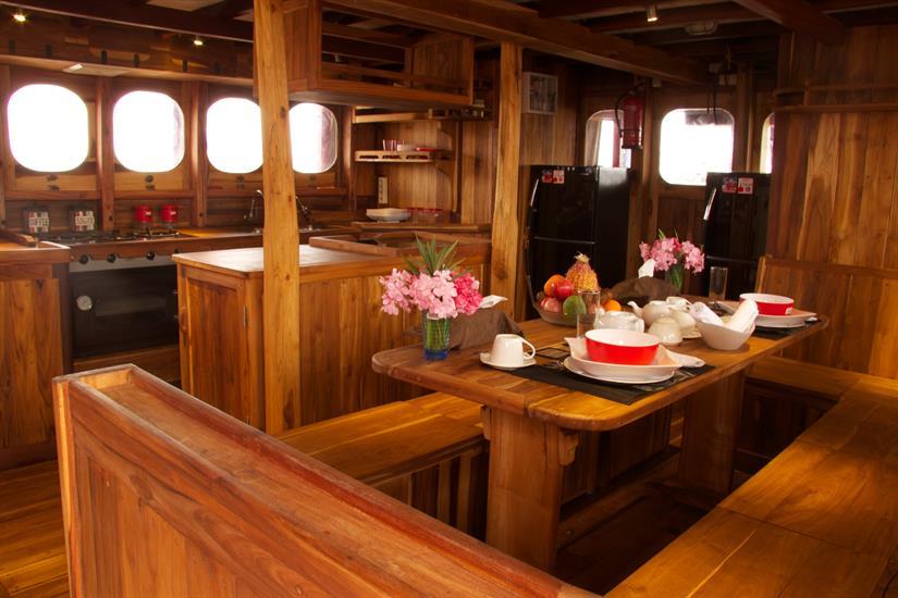 Dining area - Calico Jack Liveaboard