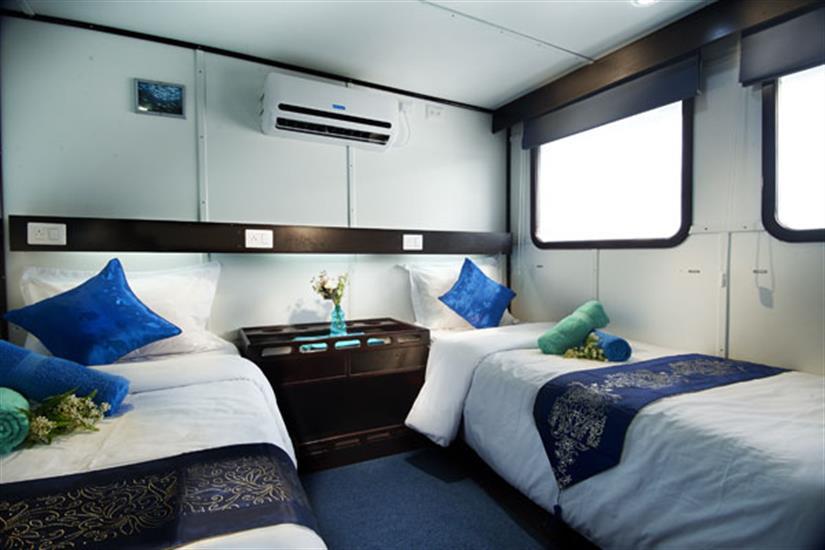 Lower Deck Cabin - Galapagos Master