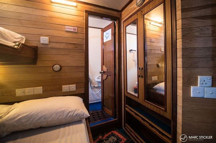 Twin Cabin - Emperor Atoll Liveaboard Maldives