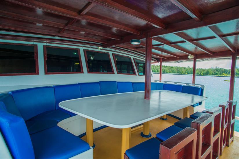Deck Area - Emperor Atoll Liveaboard Maldives