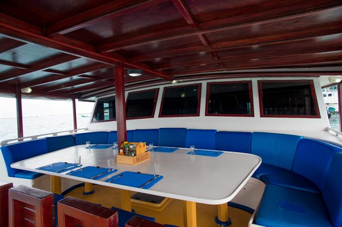 Deck/Dining Area - Emperor Atoll Maldives