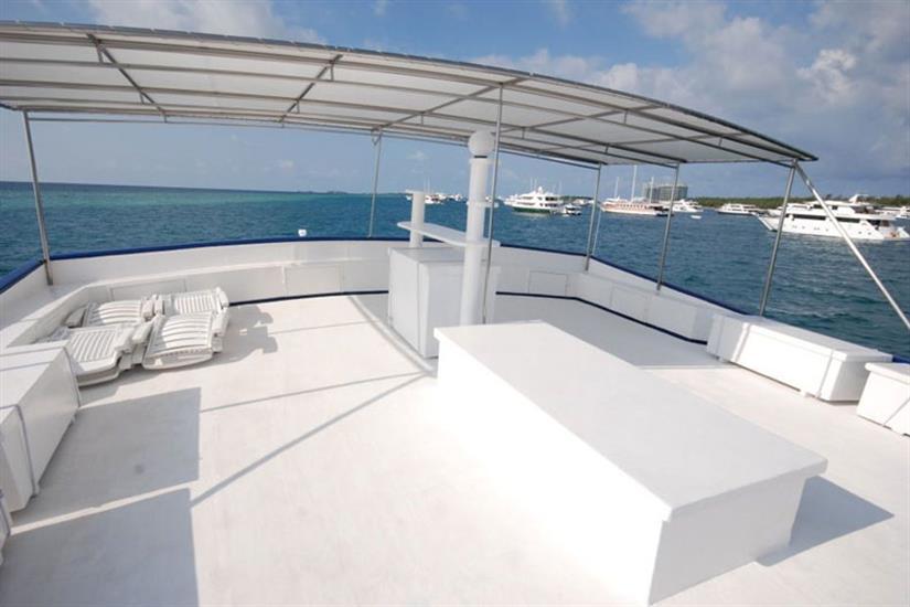 Sun Deck - Emperor Atoll Liveaboard Maldives