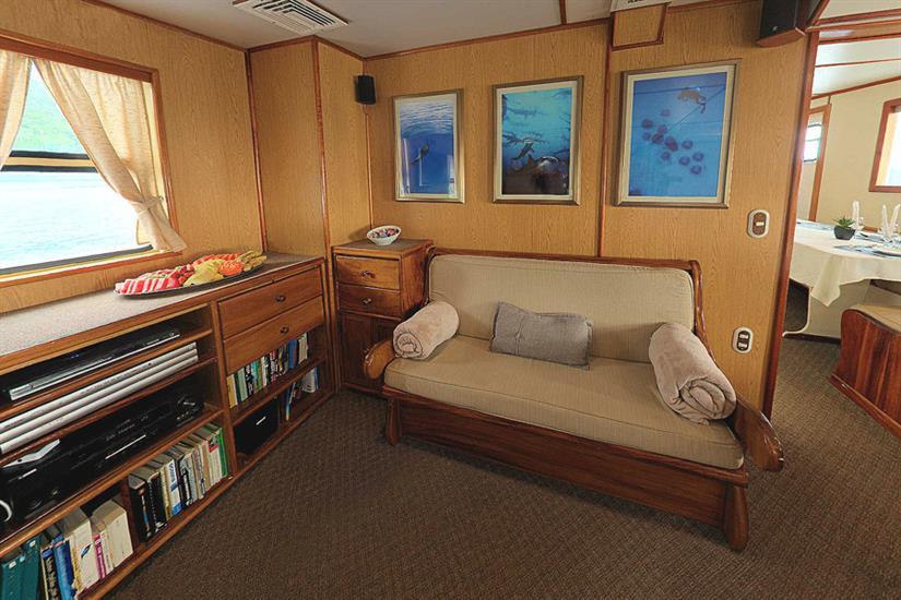 Undersea Hunter Liveaboard Saloon