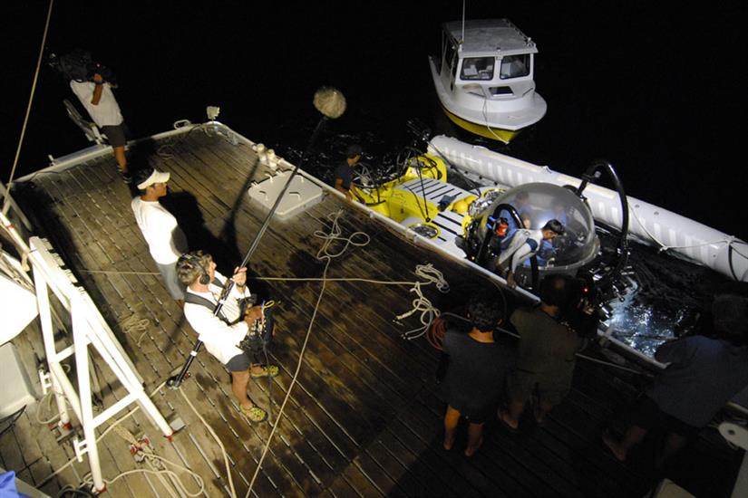 Undersea Hunter Liveaboard Work Deck