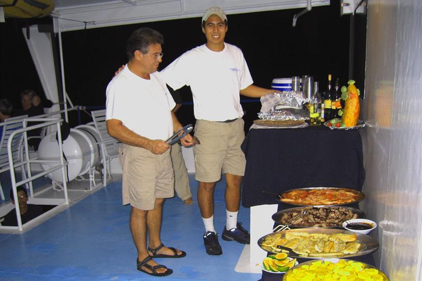 Undersea Hunter Liveaboard Party Deck