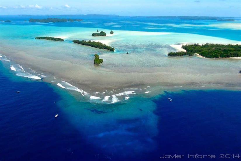 Blue Corner Palau Solitude One Liveaboard