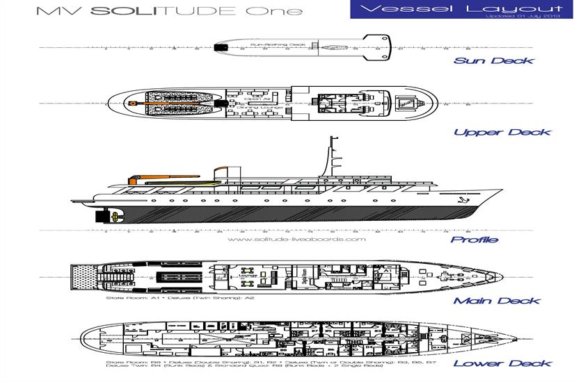 Solitude One Deckplan