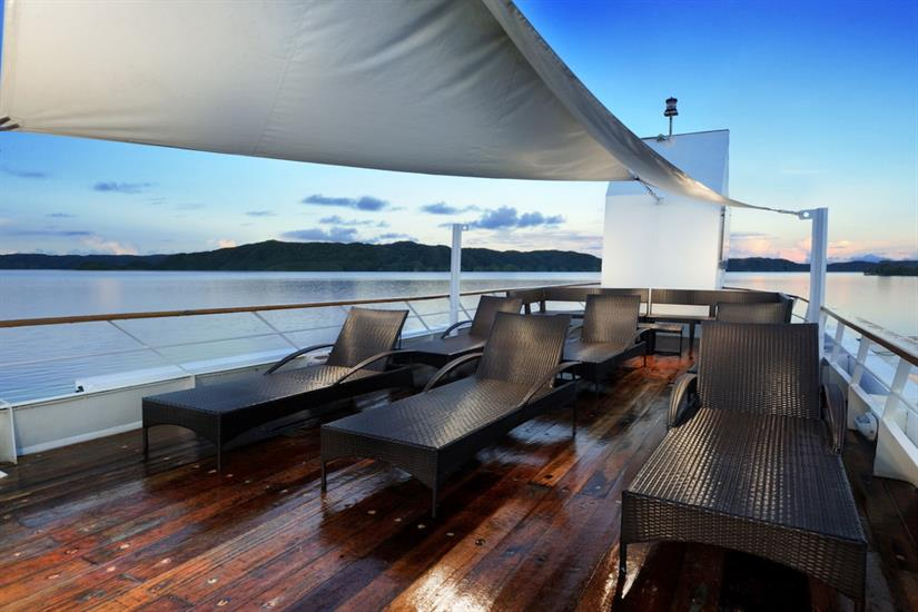 Solitude One Liveaboard Sun Deck