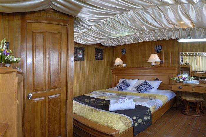 Lower deck double cabin - Sea Safari VI