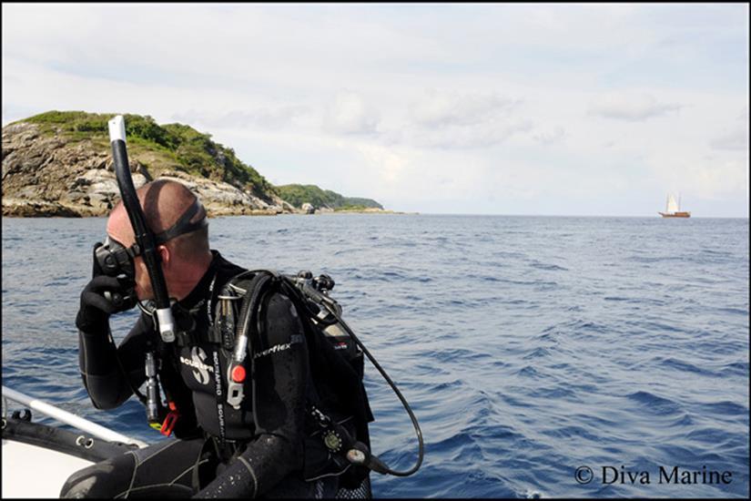 Diving the Andaman Sea