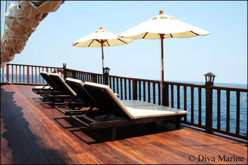 Sun Deck - Diva Andaman