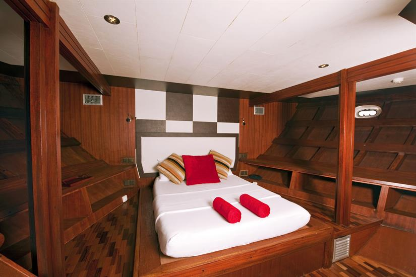 Lower deck Superior Cabin - MV Theia