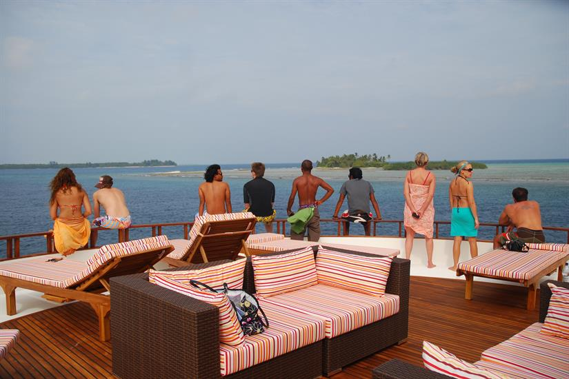 Top deck relaxation - MV Theia