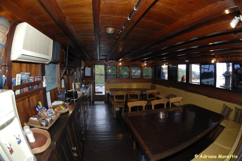 Indoor dining area - SMY Ondina Indonesia