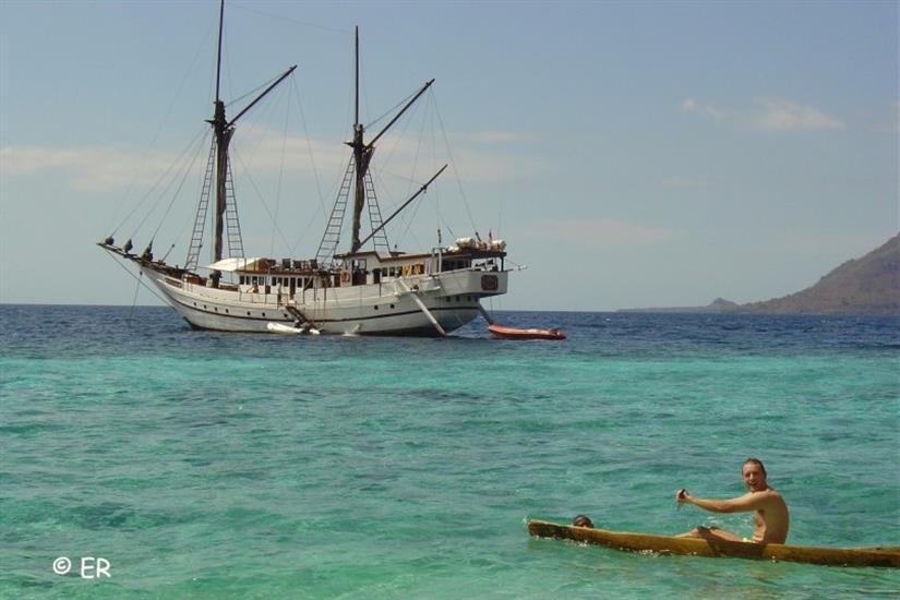 Land trips from the SMY Ondina Indonesia