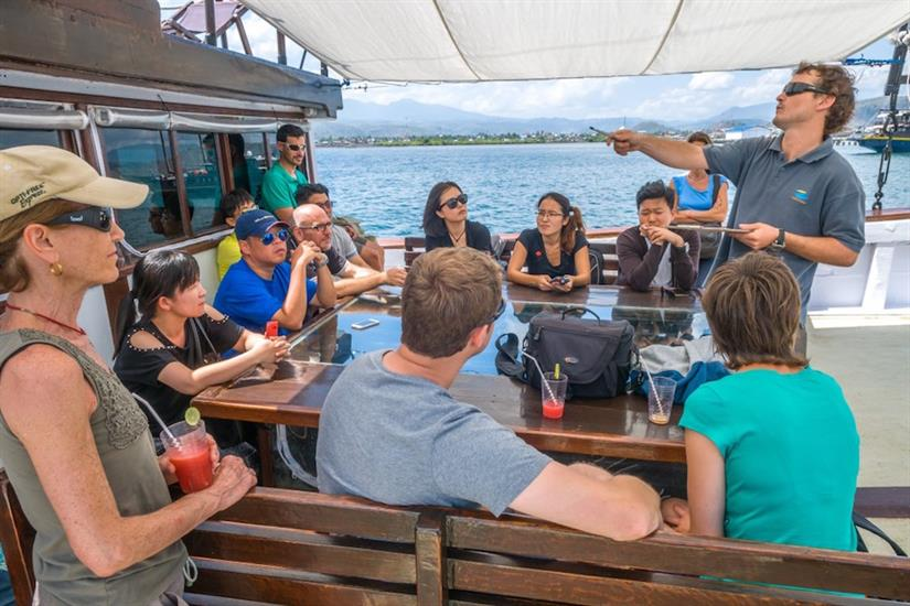 Dive briefing - SMY Ondina Indonesia