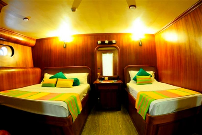 Triple bed cabin - Princess Handy
