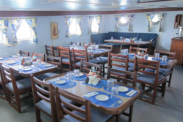 Dining Area - Thorfinn Liveaboard