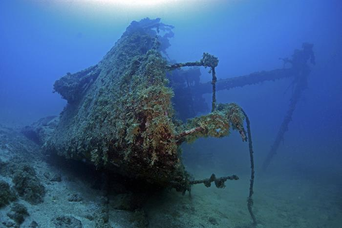 Gosei Maru Wreck, Chuuk, Micronesia