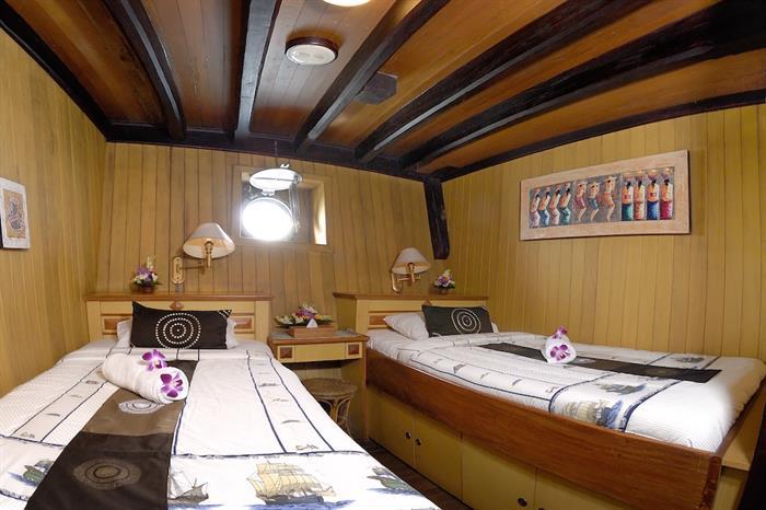 Lower Deck Twin Cabin - Sea Safari VII Indonesia