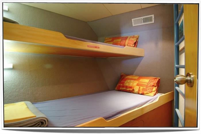 Twin Cabin (Bunk style) - ScubaPro I