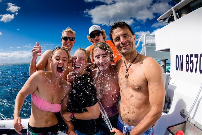 Great memories and diving onboard ScubaPro III