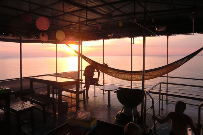 Relaxation aboard the Thai Sea Liveaboard