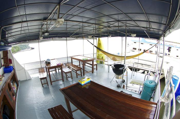 Dining area - Thai Sea Liveaboard