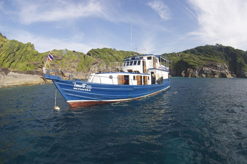 Thai Sea Liveaboard Andaman Sea