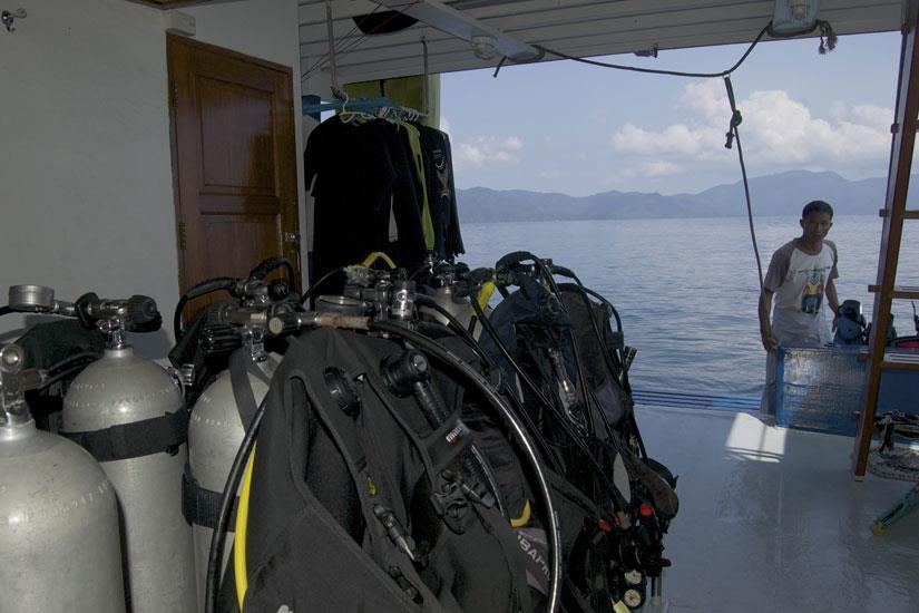Dive Deck - Thai Sea Liveaboard