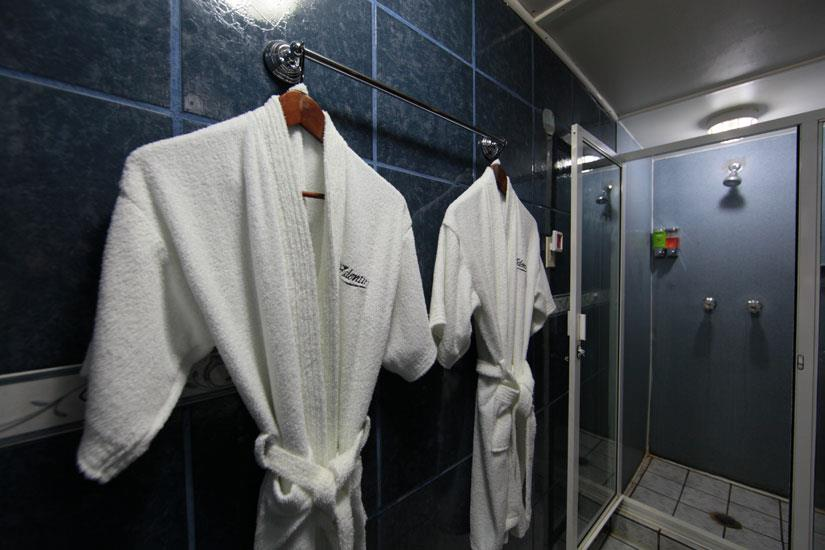Shower area - MV Valentina Liveaboard