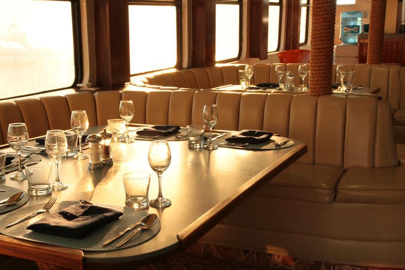 Dining area - MV Valentina Liveaboard