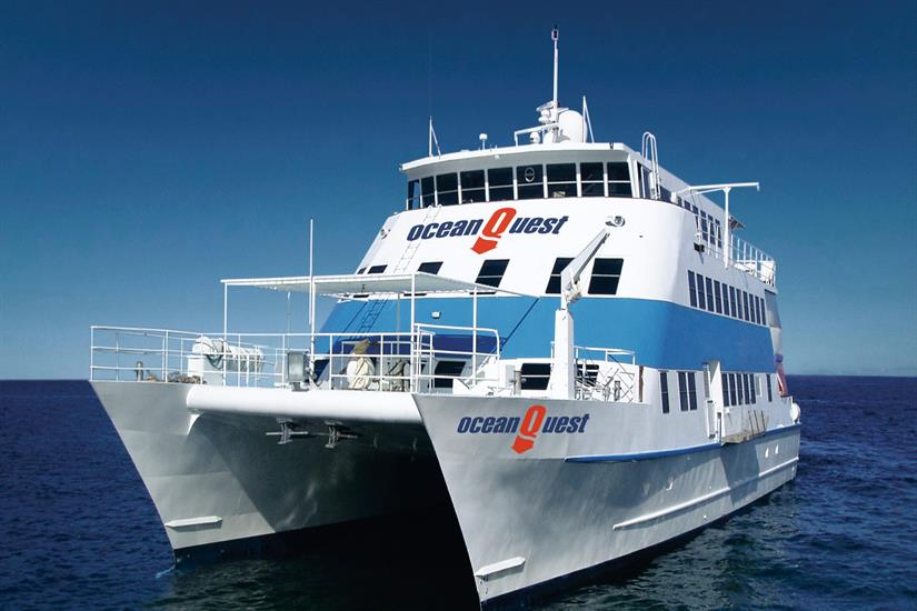 Ocean Quest Liveaboard Outer Great Barrier Reef